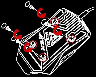 Первый шаг замены перключателей