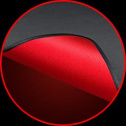 Красное прорезиненное основание