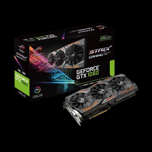 Asus GeForce® GTX 1060 Strix OC 6G (STRIX-GTX1060-O6G-GAMING) фото