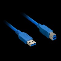 Atcom USB 3.0 AM/BM Blue for periphery 1,8m