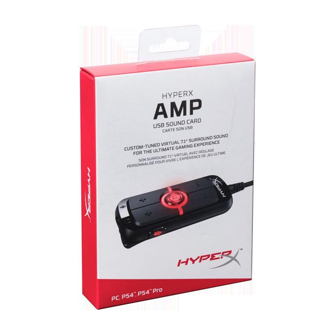 HyperX Amp USB Sound Card (HX-USCCAMSS-BK) стоимость