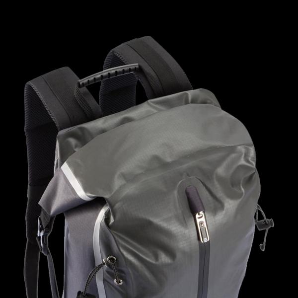 Swiss Peak waterproof backpack, grey (P775.052) фото