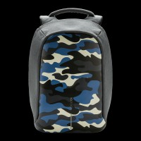 XD Design Bobby Anti-Theft Backpack Camouflage Blue (P705.655)