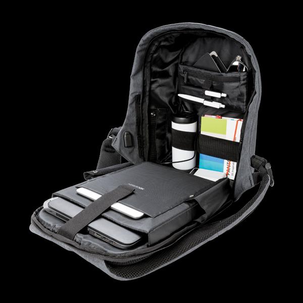 XD Design Bobby Anti-Theft Backpack Camouflage Blue (P705.655) стоимость