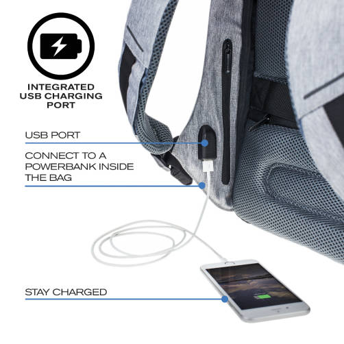 USB-вход в сумке