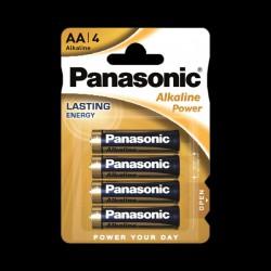 Panasonic ALKALINE POWER AA BLI 4