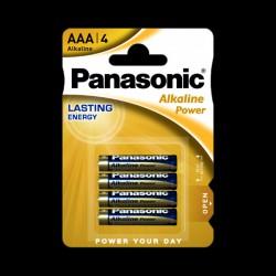 Panasonic ALKALINE POWER AAA BLI 4
