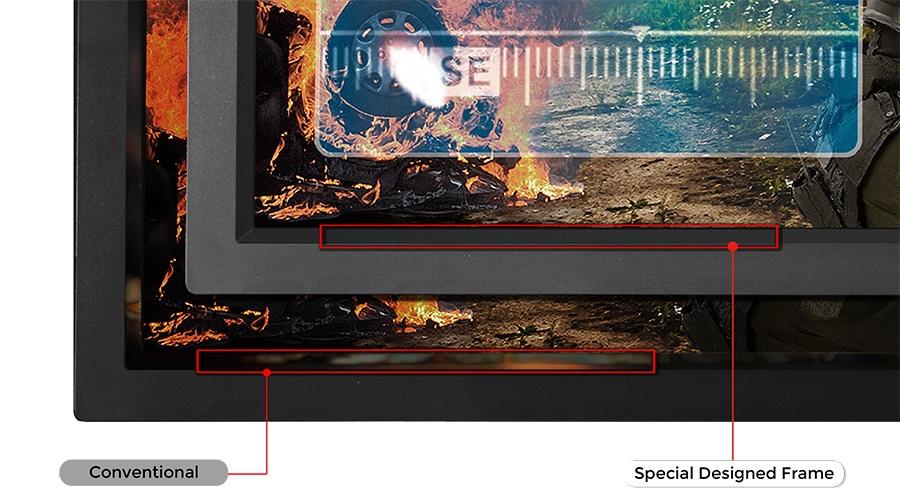 Специальная форма рамки экрана