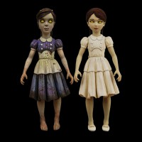Bioshock 2: Eleanor Lamb and Little Sister Action Figures