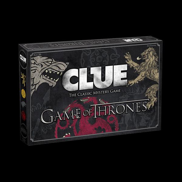 Cluedo Game of Thrones купить