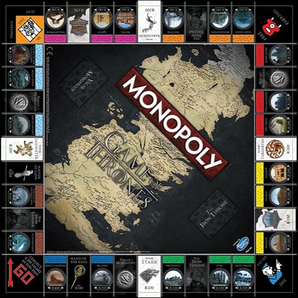 Monopoly - Game of Thrones UK цена
