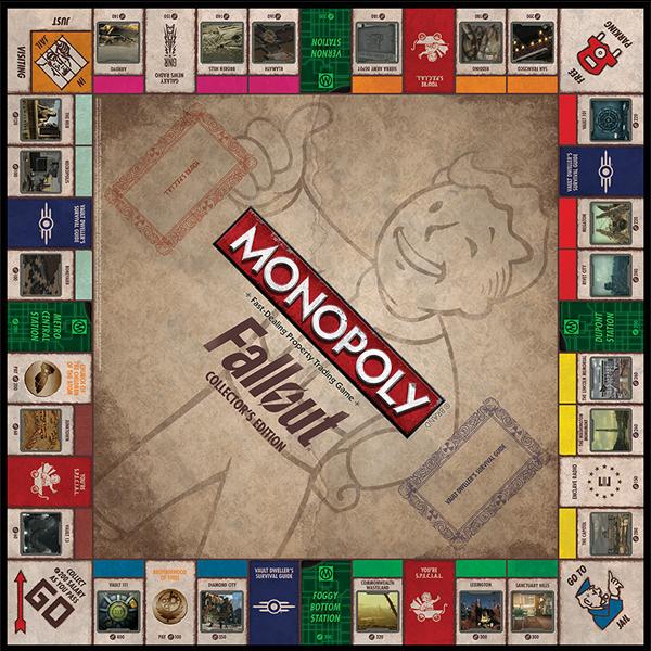 Monopoly Fallout цена