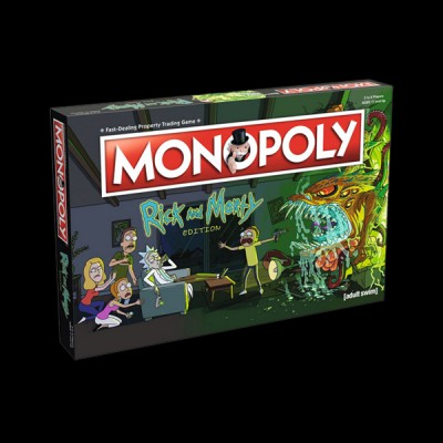 Monopoly Rick and Morty купить