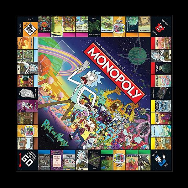 Monopoly Rick and Morty цена
