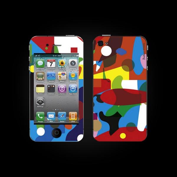 Bodino Colorlover by Constantijn Gubbels iPhone 4 Skin купить