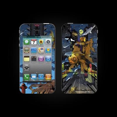Bodino Crosstown Traffic by Wesly George Gibs iPhone 4 Skin купить