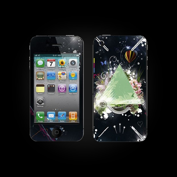 Bodino Flowertriangle by Teis Albers Skin iPhone 3G/3GS купить