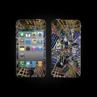 Bodino Network by Georg Buhl iPhone 4 Skin