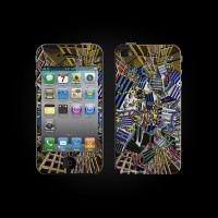Bodino Network by Georg Buhl Skin iPhone 3G/3GS