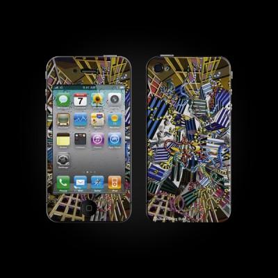 Bodino Network by Georg Buhl Skin iPhone 3G/3GS купить