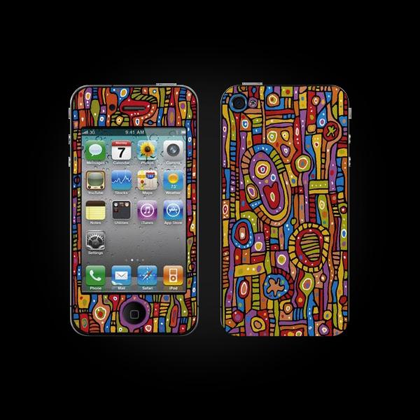 Bodino Organic Pattern by Ulrike Vater Skin iPhone 3G/3GS купить