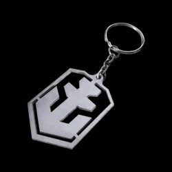 World of Warships Logo Keychain