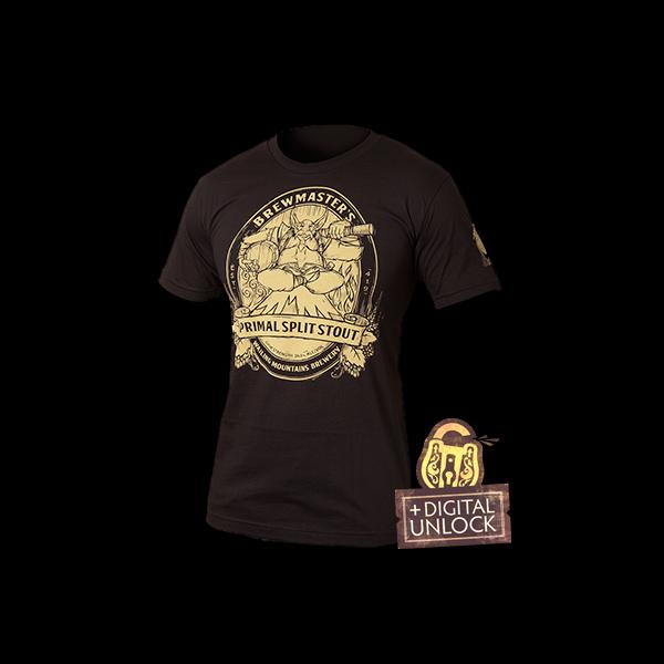 Dota 2 Brewmaster Primal Split Stout T-shirt