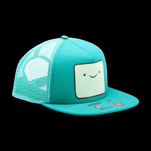 Adventure Time - Beemo Trucker Snapback (BA0PNRADV) купить