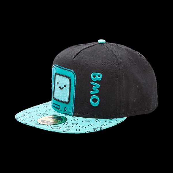 Adventure Time - BMO Snapback With Embroidery And Printed Bill (SB097539ADV) купить