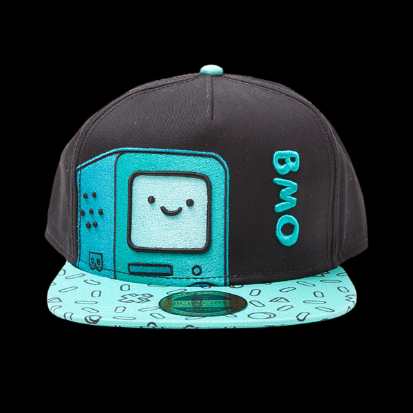Adventure Time - BMO Snapback With Embroidery And Printed Bill (SB097539ADV) цена