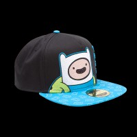 Adventure Time - Finn Snapback with Printed Bill (SB097537ADV)