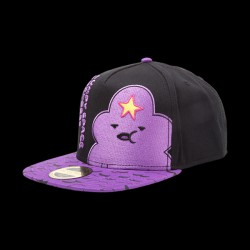 Adventure Time - Lumpy Space Princess Snapback with Printed Bill (SB097538ADV)