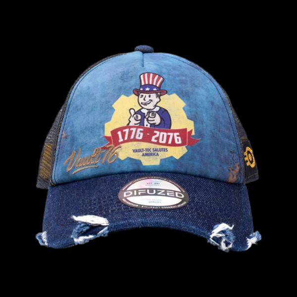 Fallout - Vault 76 Vintage Trucker Cap (BA214634FAL) цена