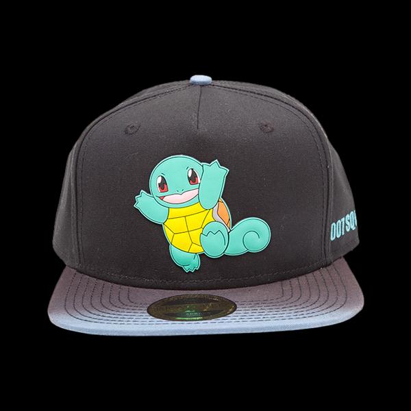 Pokemon - Dip Dye Snapback with Rubber Squirtle Patch (SB290202POK) цена