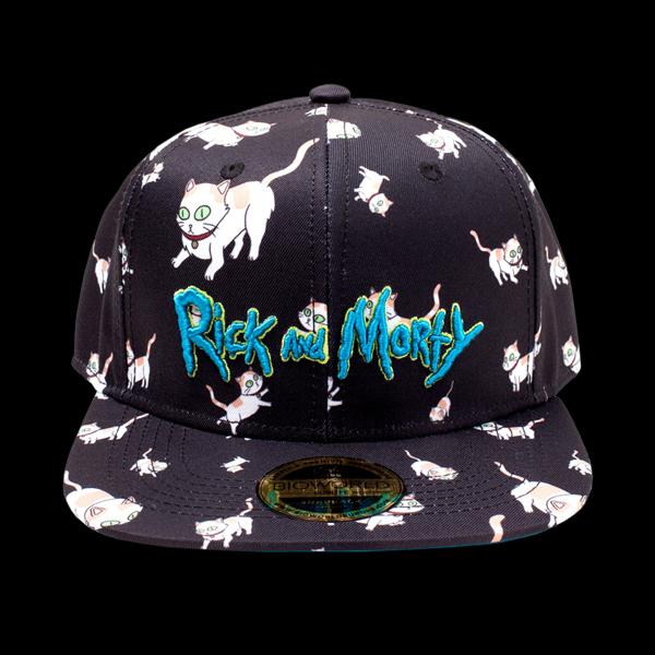 Rick & Morty - Cats AOP Snapback (SB008476RMT) цена
