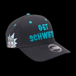 Rick & Morty - Get Schwifty Curved Bill Cap (BA005235RMT)