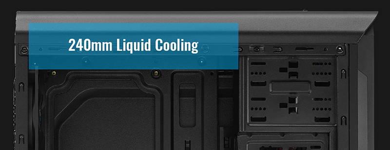 Водяное охлаждение корпуса