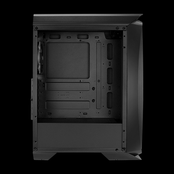 AeroCool Aero One Eclipse ARGB Tempered Glass Black фото