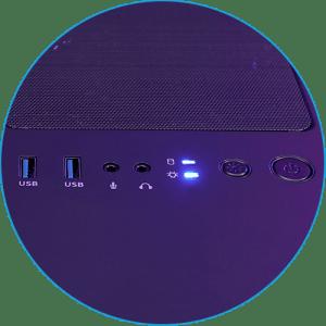 Светодиодная кнопка управления