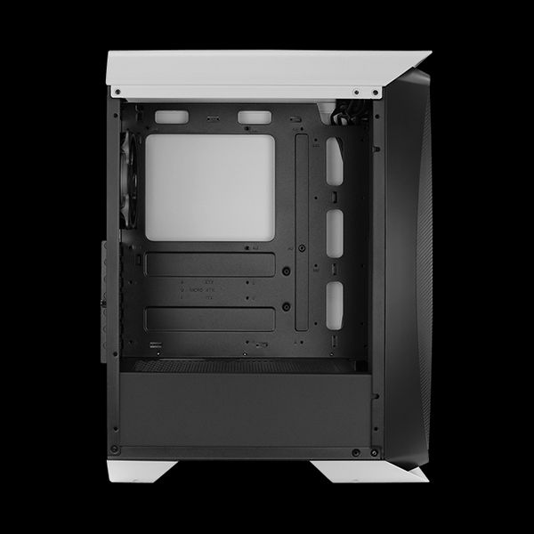 AeroCool Aero One Eclipse ARGB Tempered Glass White фото