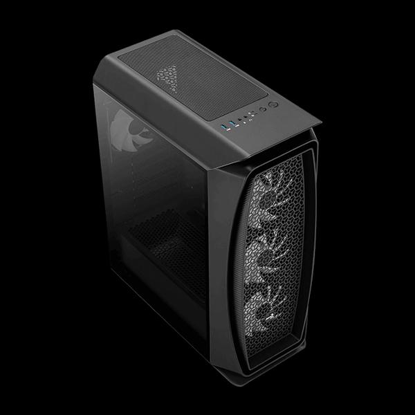 AeroCool Aero One Frost FRGB Tempered Glass (Black) описание