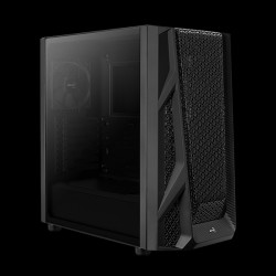 AeroCool AirHawk Tempered Glass (Black)