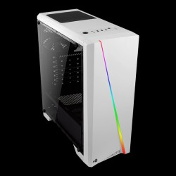 AeroCool Cylon Tempered Glass RGB White