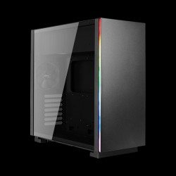 AeroCool GLO Tempered Glass RGB Black