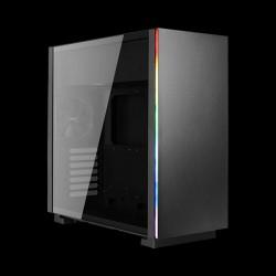 AeroCool GLO Tempered Glass RGB Black