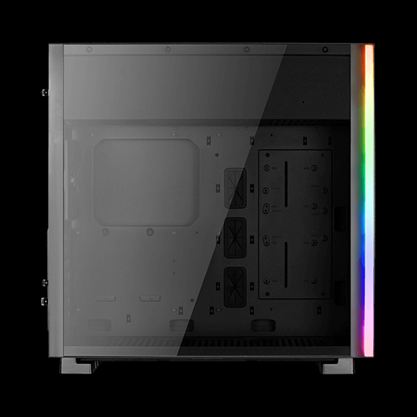 AeroCool GLO Tempered Glass RGB Black стоимость