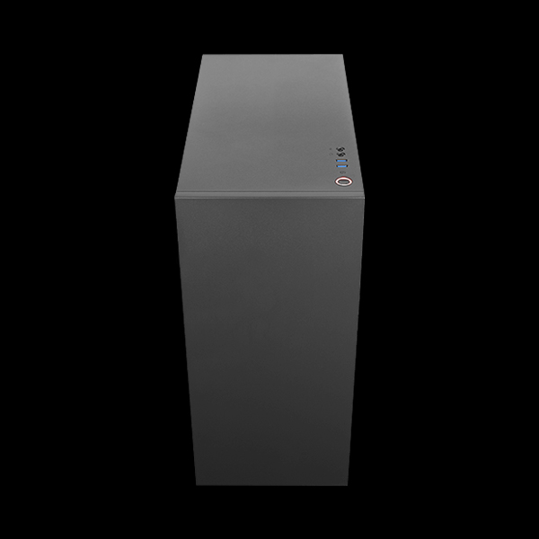 AeroCool GLO Tempered Glass RGB Black описание