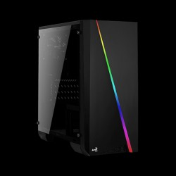 AEROCOOL PGS Cylon Mini Tempered Glass RGB Black