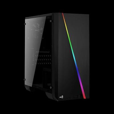 AEROCOOL PGS Cylon Mini Tempered Glass RGB Black купить