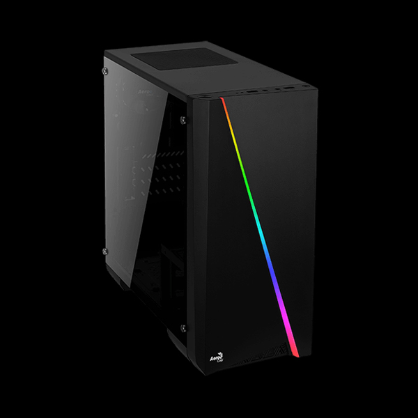 AEROCOOL PGS Cylon Mini Tempered Glass RGB Black описание